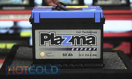 Автомобильная стартерная батарея Plazma