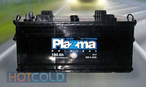 Автомобильная стартерная батарея Plazma Original