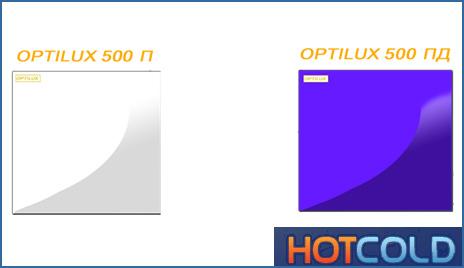 Потолочная нагревательная панель OPTILUX