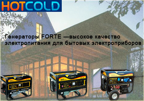 Бензиновая электростанция FORTE