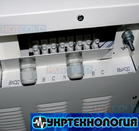 трёхфазный стабилизатор напряжения Укртехнология
