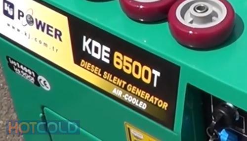 Дизельная электростанция KJ POWER KDE