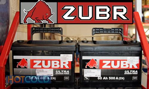 Автомобильная стартерная батарея ZUBR 6СТ