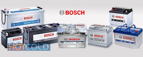 Автомобильная стартерная батарея BOSCH