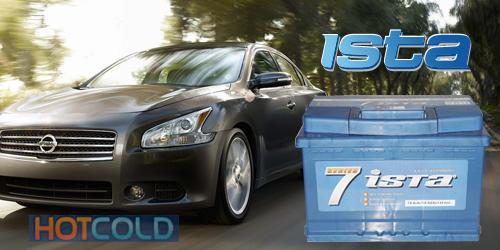 Автомобильная стартерная батарея ISTA 7 SERIES