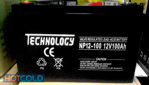 аккумуляторная батарея TECHNOLOGY